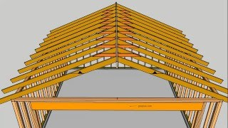 What Are Roof Rafter Collar Ties – House Framing Parts