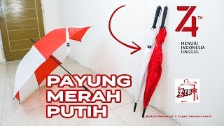 Souvenir Payung Merah Putih 17 Agustus