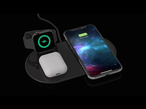 mophie 3 in 1 Wireless Ladestation (7.50W)