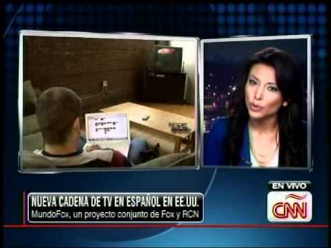 MUNDOFOX News Corp Launches Spanish Channel |  Fox y RCN | CNN en Español con Lili Gil