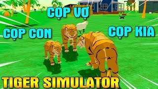 KIA TRỞ THÀNH CHÚA TỂ SƠN LÂM - Tiger Simulator 3D | KiA Phạm