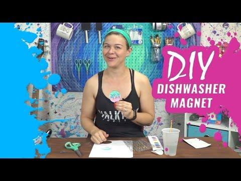 Kate Creates DIY Dishwasher Magnet