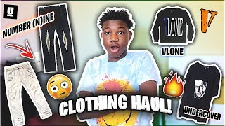Clothing/Pickup Haul!🔥Number (N)ine, Comme Des Garçons, Undercover + Why I Changed My Style?👖