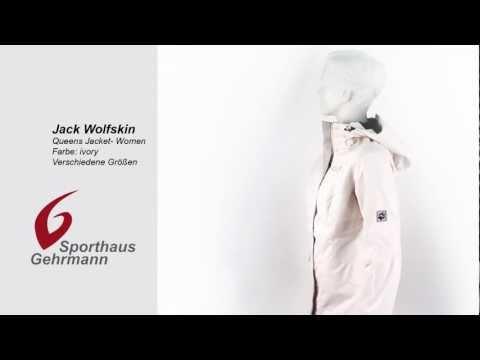 Jack Wolfskin Queens Jacket Women ivory