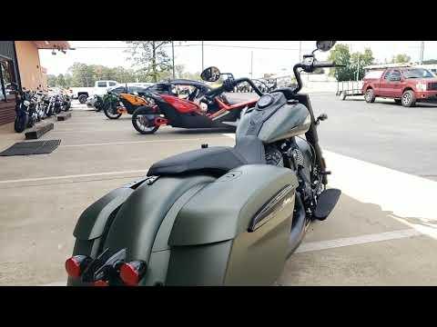 2020 Indian Springfield® Dark Horse® in Greer, South Carolina - Video 1