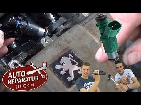 Einspritzventil wechseln   Peugeot Citroen 1.4 Einspritzdüse defekt   DIY Tutorial