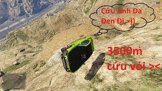 GTA 5 Bỏ Rơi Anh Da Đen Và Chiếc Xe Huyền Thoại Từ Đỉnh Núi Cao Nhất Liệu Cả 2 Có Sống Sốt ?