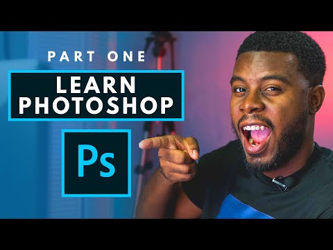 How to Use Adobe Photoshop (Part 1) Graphic Design Tutorial for Beginners