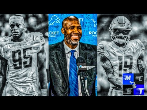 Live: Detroit Lions Refuse to Franchise Tag Kenny Golladay & Romeo Okwara!!!