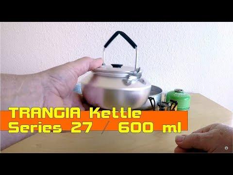 Wasser kochen wie früher ...TRANGIA Kettle Serie 27, 600 ml