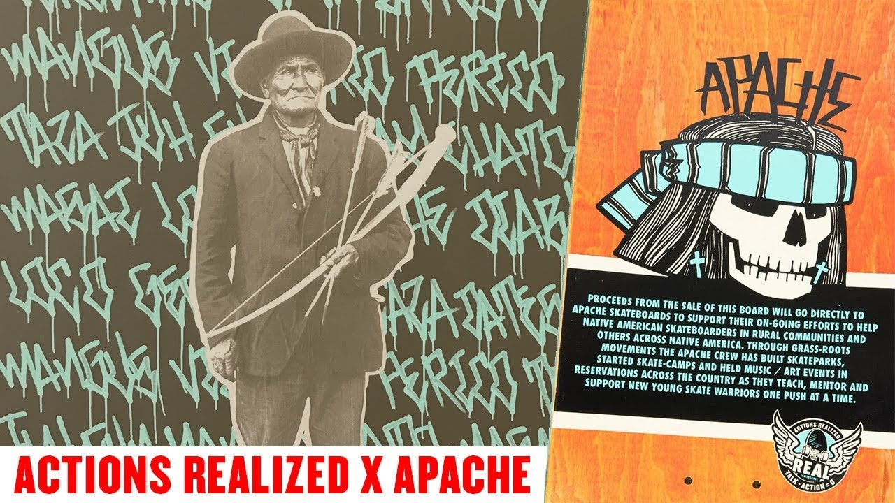 Actions REALized : Apache - REAL Skateboards