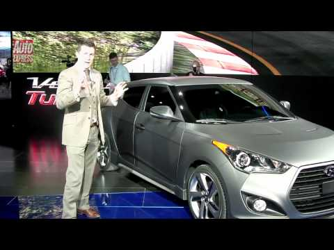Detroit Motor Show 2012 Hyundai Veloster Turbo - Auto Express