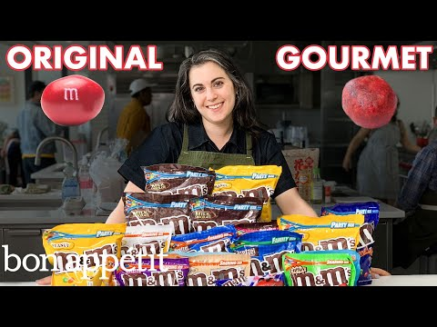Download Pastry Chef Attempts to Make Gourmet M&M's | Gourmet Makes | Bon Appétit Mp4 HD Video and MP3