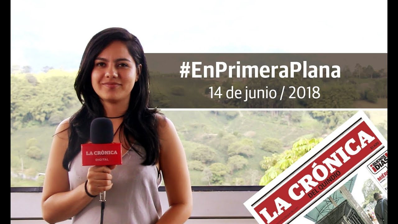 En Primera Plana - 14 de junio de 2018