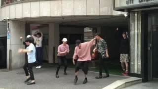 Got7 เต้นหน้าตึกjyp Girls×2 อย่างฮา😂