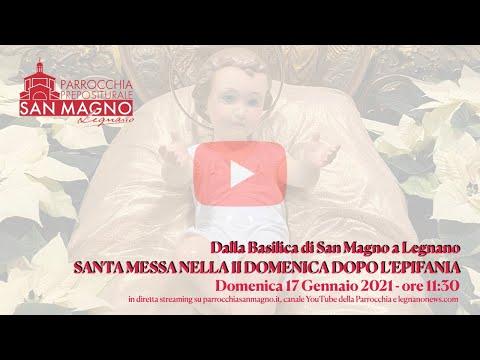 In diretta dalla Basilica di Legnano la messa festiva