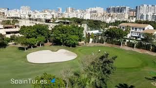 Отличный пентхаус в Сан Хуан де Аликанте, большая терраса, шикарные виды, рядом пляж Sant Joan