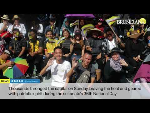 Tens of Thousands Gather For Brunei\'s 36th National Day