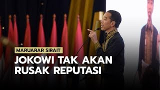 Maruarar Sirait: Jokowi Tak Mungkin Rusak Reputasi Karena Gibran dan Bobby