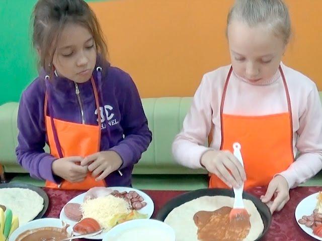 Мастер-класс для юных кулинаров