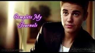 Justin Bieber || Complete My Journals♥ Dowload/Descarga el albúm completo (Free/Gratis)