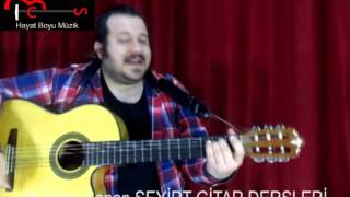 Gitar Dersi 7 (Ritim Akor) B7 Akoru Ve 'Yastayım' Şarkısı