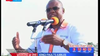 Kilifi Governor Amason Kingi accuses Jubilee of using chiefs to campaign