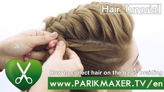 Braided Updo Hairstyle parikmaxer tv USA