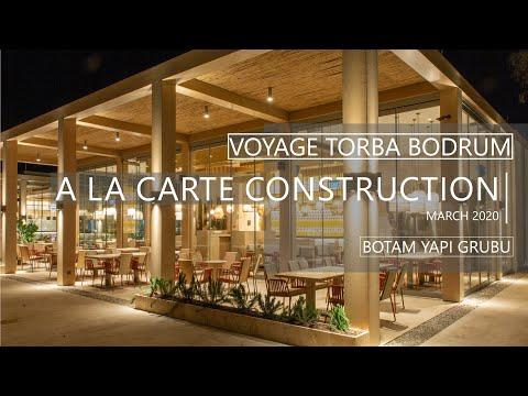 Voyage Torba Bodrum - Steel constructions