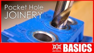 Beginner's guide to pocket hole joinery | WOODWORKING BASICS