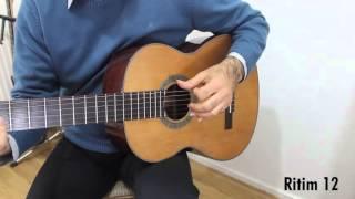 Gitar İle Popüler Şarkılar - Çeşitli Ritim Kalıpları