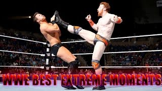WWE BEST EXTREME MOMENTS EVER [ WWE VINES ] 2016 WWE HIGHTLIGHTS 2016