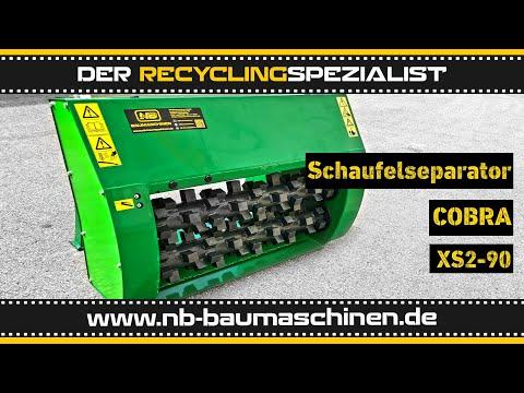 COBRA XS 2-90 | Schaufelseparator | Siebschaufel | Sieblöffel | Miete