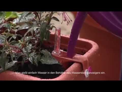 Smart System Selbstbewässerung Blumenkästen