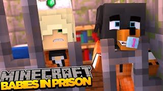 Minecraft - Donut The Dog Adventures - BABY MAX & LEAH ARE IN PRISON!!!