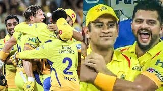 CSK Winning Moment - IPL 2018 FINALS | Dhoni | CSK vs SRH