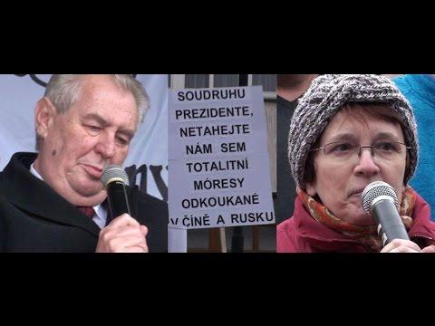 Návštěva prezidenta ČR Miloše Zemana v Sedlčanech