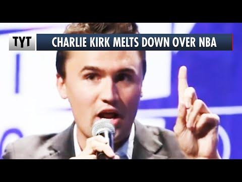 Charlie Kirk Triggered by NBA