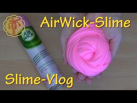 Slime-Vlog: Airwick-Slime im Test