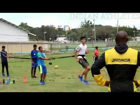Indian athletes at JAMAICA!! 🇯🇲 #2 | Usain Bolt training club | Kingston,Jamaica