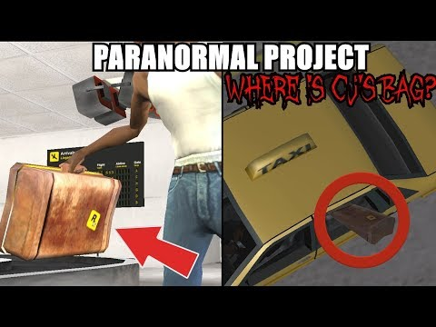 WHAT HAPPENED WITH CJ'S BAG? AND WHAT WAS IN IT? GTA San Andreas Myths - PARANORMAL PROJECT 82