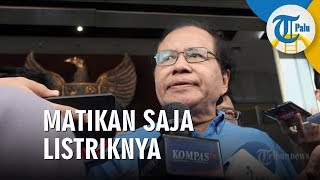 Rizal Ramli: Menyerang Indonesia Gampang Sekali, Matiin Saja Listriknya