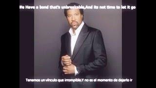 Lionel Richie I Call It Love Lyrics Español-Ingles