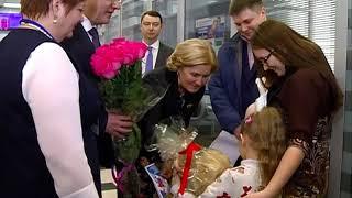 Вице-премьер Ольга Голодец посетила самую крупную школу в Самаре
