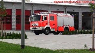 preview picture of video 'HLF 20/16 BF Altenburg [aus der neuen Wache]'