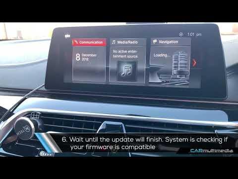 BMW NBT EVO id5 menu exchange id6 with USB coding and TV-free VIM