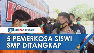 Polisi Tangkap 5 Pria Pelaku Pemerkosaan Siswi SMP di Deli Serdang, Kenal Tersangka di Acara Hajatan