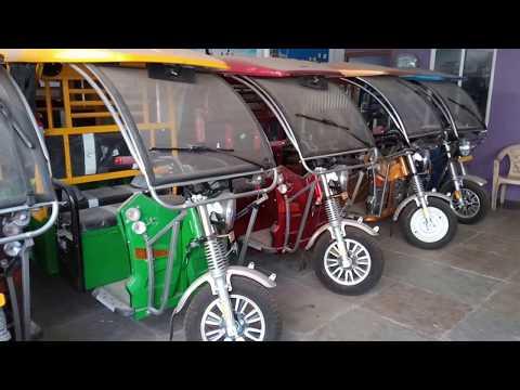 Electric Rickshaw in Kolkata, West Bengal | Electric