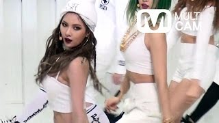 [Fancam] Hyunah of 4MINUTE(포미닛 현아) Crazy(미쳐) @M COUNTDOWN Rehearsal_150212