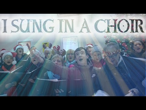 I Sung in a Christmas Choir!! (Hilarious!)